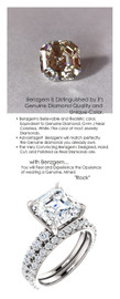 4.50 Benzgem by GuyDesign® Unforgettable, Most Believable, Original G-H-I-J Color 04.50 Ct. Asscher Hand Cut Diamond Copy, Mined Diamond Semi G-H Color VS Clarity, Custom 14k White Gold Jewelry 3/4 Eternity Solitaire Ring 6842
