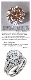 1.91 Prince of Wales Halo Ring by GuyDesign® G-H Color, 01.91 Ct. Off-White Hand Cut H&A Round Shape Excellent Diamond Quality Benzgem Diamond Copy, Mined Diamond Semi-Mount, Custom 14K White Gold Jewelry 6906