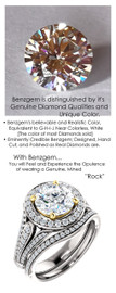 1.91 Prince of Wales Halo Ring by GuyDesign® G-H Color, 01.91 Ct. Off-White Hand Cut H&A Round Shape Excellent Diamond Quality Benzgem Diamond Copy, Type IIa Colorless Cubic Zirconia Semi-Mount, Custom 14K White Gold Jewelry 6920