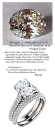 2.66 Micro Pavé Diamond Engagement Ring by GuyDesign®, 02.66 Ct. Hand Cut Oval Shape G-H Color Excellent Diamond Quality Benzgem Diamond Replica, Custom Jewelry 6959