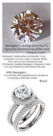 2.00 Micro Pavé Mined Diamond G+, VS Engagement Ring by GuyDesign®, 2 Carat G-H Color H&A Round, Simulated Diamond, 7018