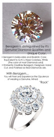 1.91 Benzgem by GuyDesign® Mined Diamond Color, Near Colorless White, All Hearts & Arrows Round, 1.91 Carat Solitaire surrounded by 10 Similar Jewels, 3.11 Ct. Tw., Diana Princess of Wales Ring, Supreme Sterling Silver, 7117