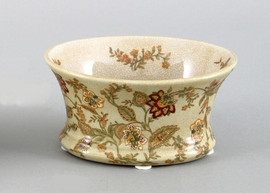Blossoms Pattern - Luxury Hand Painted Porcelain - 5.5 Inch Bowl - Set of Two