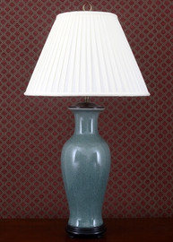 Celadon - Luxury Hand Painted Porcelain - 35 Inch Lamp