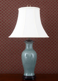 Celadon - Luxury Hand Painted Porcelain - 31 Inch Lamp