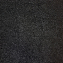 Fine Handcrafted Period - Luxurie Furniture Fabric - BLK Black Leather