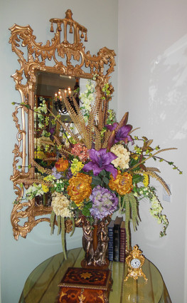 """A Classic Elements 62""""t X 31""""w x 4""""d Rectangular Shape Beveled Glass Chinese Chippendale Reproduction Mirror, Custom Finish, 4681"""