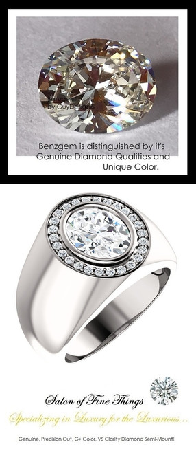 2.66 Carat G-H-I-J Color Range Diamond Solitaire Alternative with Precise Cut G+ Color and VS Clarity Mined Diamonds, 1.19 oz. Platinum Ring, GuyDesign® Men's Ideal Ring for Diamonds, 10290.9855.9