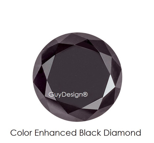 Black Round Diamond, Loose Gemstones