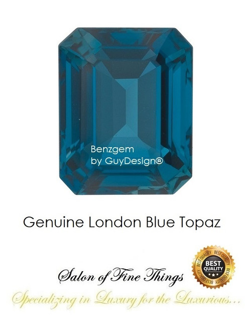 London Blue Topaz, Faceted & Cabochon Loose Gemstones, 10408