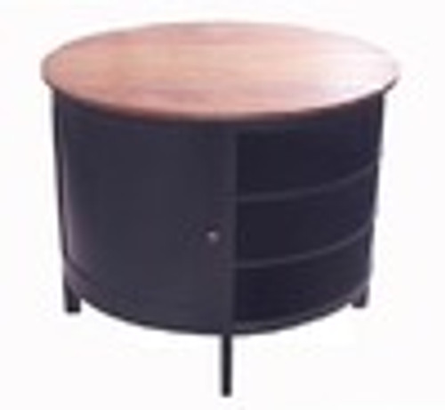 Custom Decorator - Hardwood Hand Made - Contemporary Round 41 Inch Kitchen Island