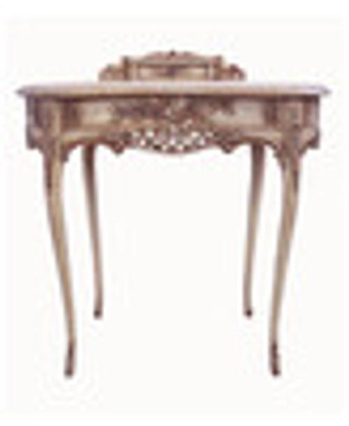 Custom Decorator - Classic 2 Drawer Bonheur-de-Jour 33.9 inch Writing Desk   Secretary