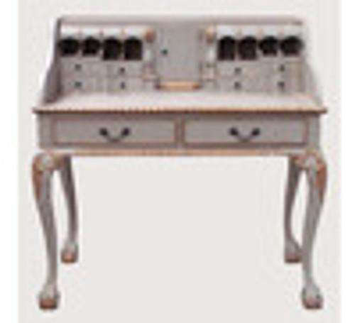 Custom Decorator - Classic 2 Drawer 40.9 inch Writing Desk   Secretary