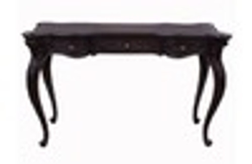 Custom Decorator - Louis XV Style 3 Drawer 51.2 Inch Writing Desk