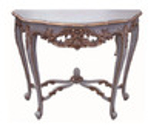 Custom Decorator - French Louis XV 39 Inch Console Entry Table