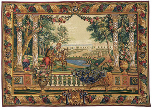 Louis XIV of Versailles - Hand Woven Tapestry
