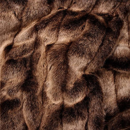 """Red Fox Faux Fur Throw - Natural look & Luxuriously Soft - Large 58"""" X 59"""""""