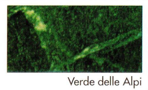 "Imperial - Verde Delle Alpi ""F"" - Green Marble"