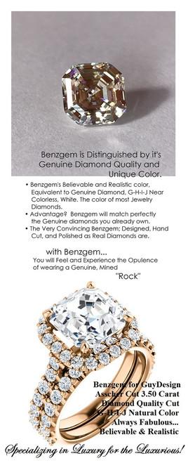 Halo Halo Engagement Rings, Asscher Cut Engagement Ring, Diamond Semi-Mount, Rose Gold, Simulated Diamond, Mine Diamond, Wedding Sets, 6663