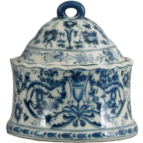 Blue and White Porcelain Decorative Box