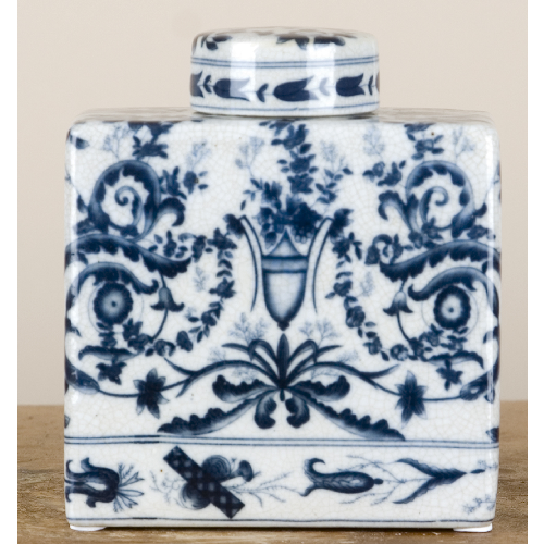 Blue and White Porcelain Decorative Jar