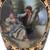 ***Lyvrich d'Elegance, Porcelain and Gilded Dior Ormolu | Romance, Bleu foncé et doré | Versailles Pitcher | Trophy Vase | Centerpiece | 30.14t X 10.05w X 8.06d | 6306