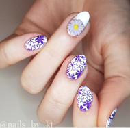 Daisy nail art charm blog