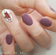 Mixed rectangle nail gem blog
