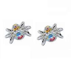Diamante spider 3d nail art charms