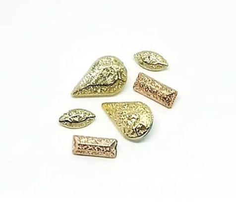 3D nail art trinket charms