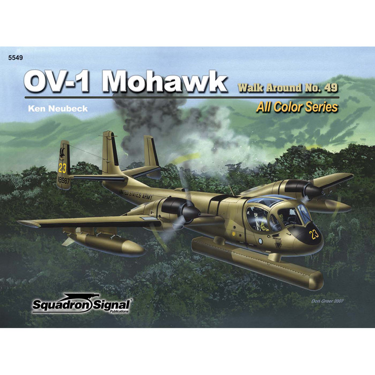 OV-1 MOHAWK WALK AROUND