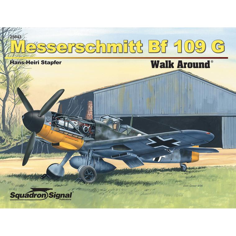 MESSERSCHMITT BF 109 WALK AROUND