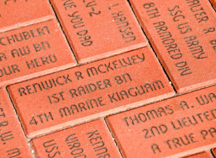Korean War Memorial Brick