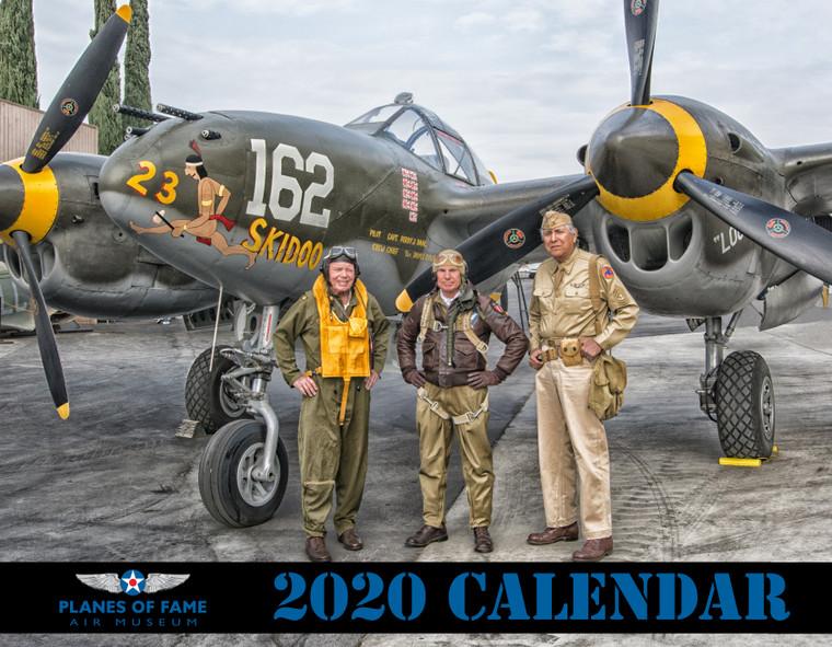 2020 PLANES OF FAME CALENDAR