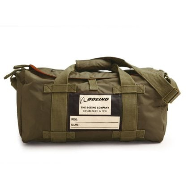 GREEN BOEING STOW BAG