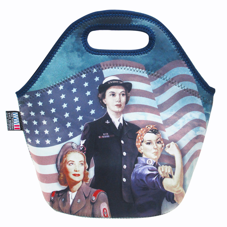 WOMEN OF WWII LUNCH BAG