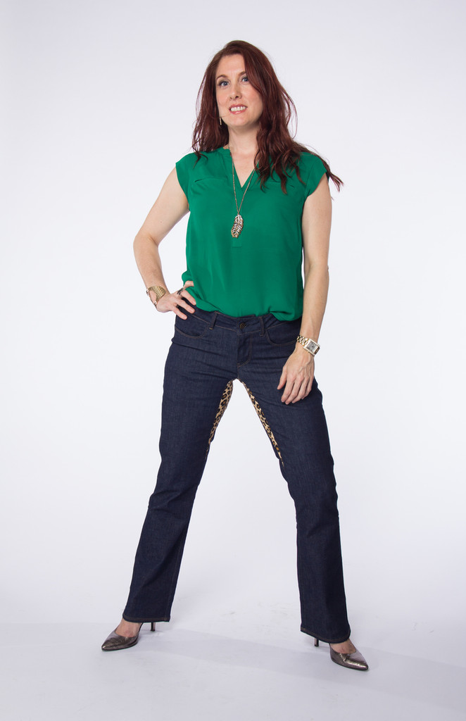 Jeans Made in the USA     Women     Short     Classic 3