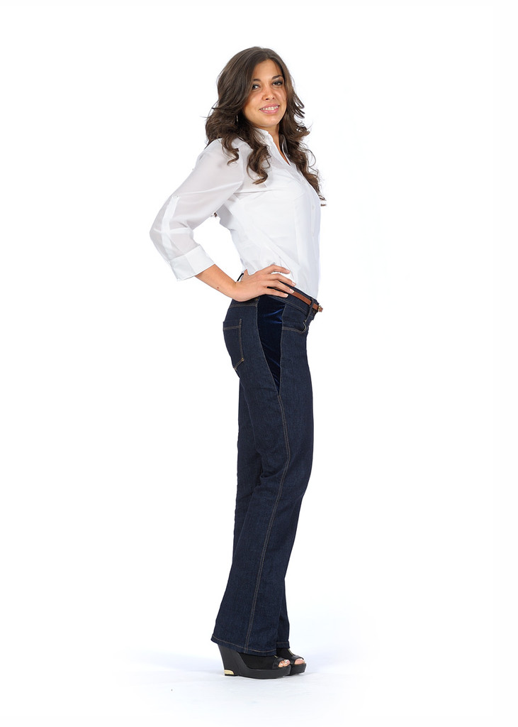 Jeans Made in the USA   |  Women  |  Short  |  Classic 2