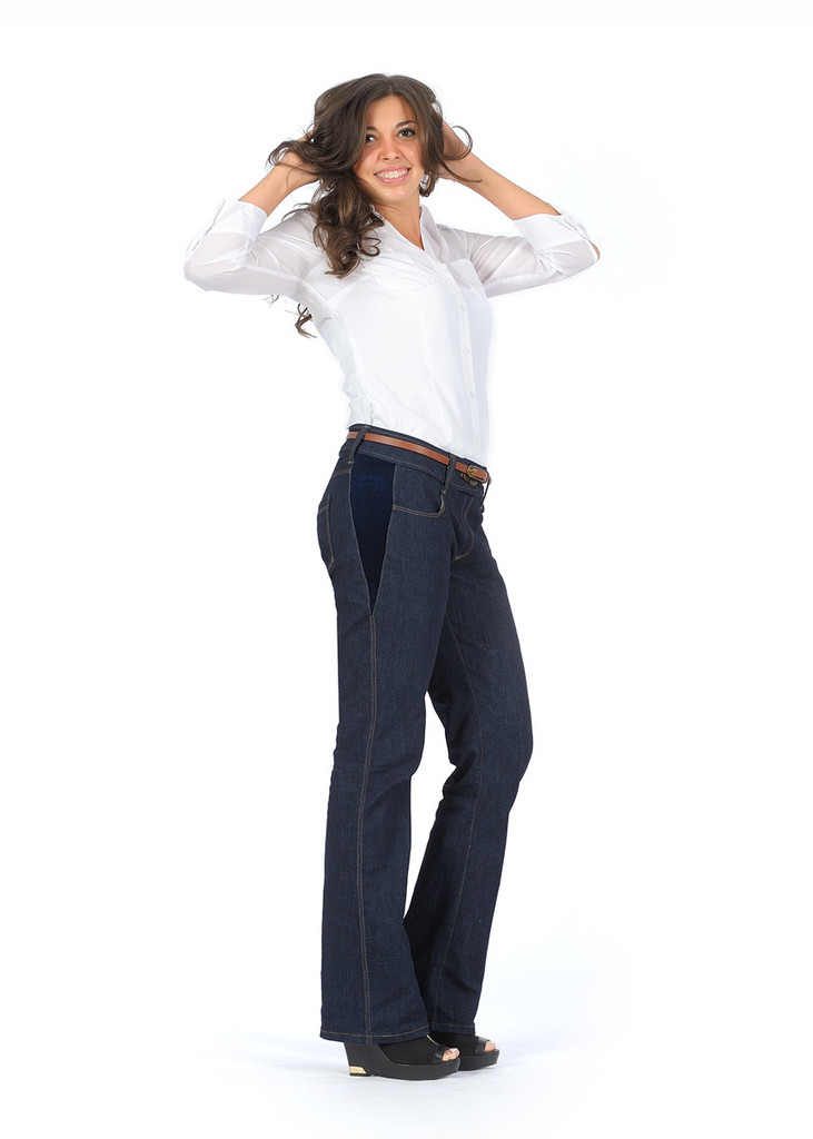 Jeans Made in the USA  |  Women  |  Ex-long  |  Classic 2