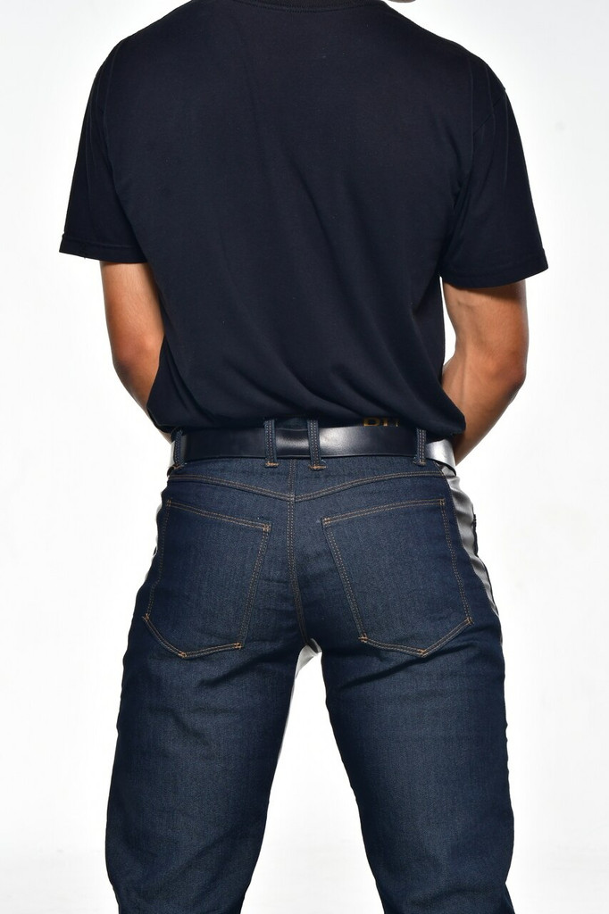 Jeans Made in the USA  |  Men Relaxed Fit  |  Short  |  Classic 3 Jegging