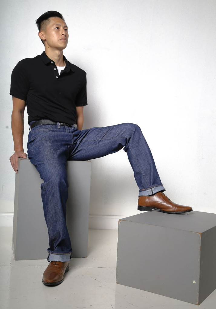 Jeans Made in the USA  |  Men Relaxed Fit  |  Ex-long  |  Classic 3