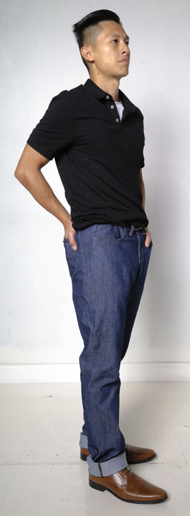 Jeans Made in the USA  | Men Relaxed Fit  |  Short  |  Classic 3