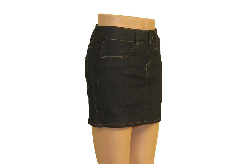 Denim Skirt Made in the USA   |  Women  |  Straight Cut  |  Short  |  Classic 2