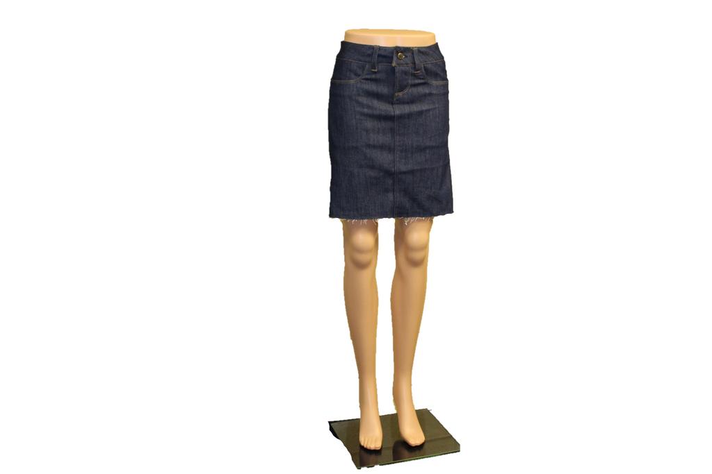 Denim Skirt Made in the USA      Women     Straight Cut     Regular     Classic 2