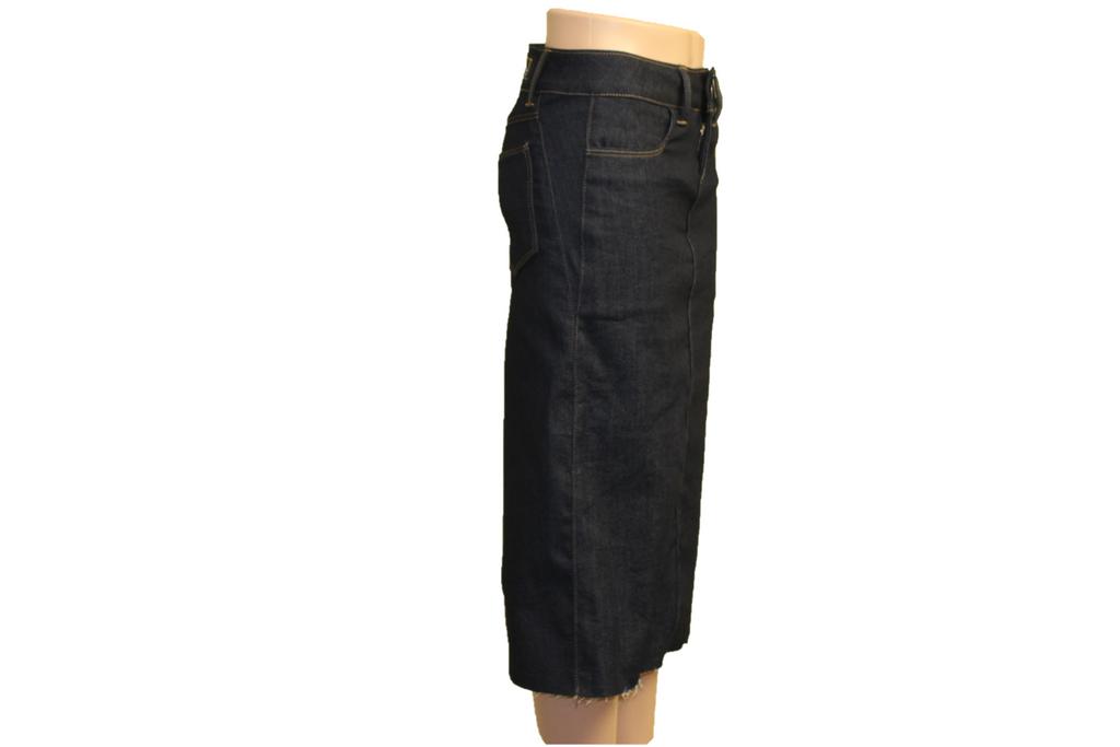 Denim Skirt Made in the USA   |  Women  |  Straight Cut  |  Long  |  Classic 2