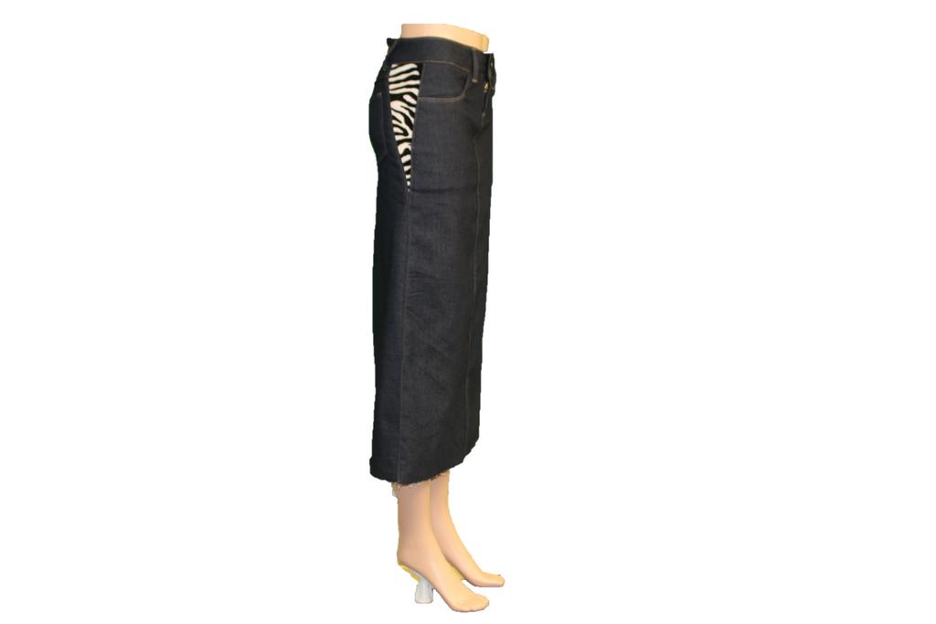 Denim Skirt Made in the USA   |  Women  |  Straight Cut  |  Ex-Long  |  Classic 2