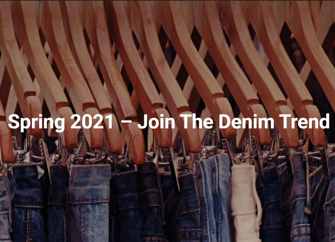 Spring 2021 – Join The Denim Trend