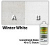 Water Reducible Concentrated (WRC) Concrete Stain - Winter White 8oz