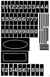 Address Number Set