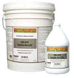 CR-515 Inside Acrylic - Interior Floor Sealer